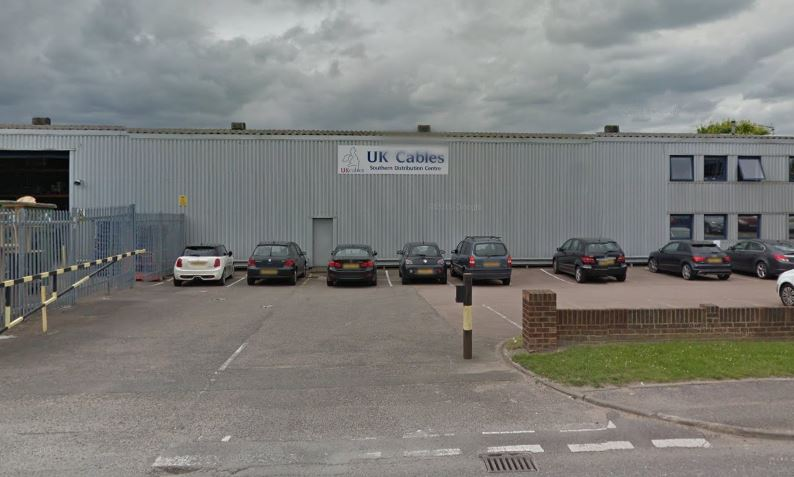 The UK Cables warehouse